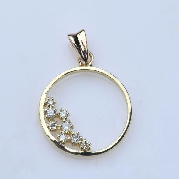 """""""Etincelles"""" - Pdt or 18 carats"""
