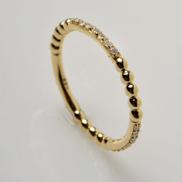 """""""Bague Clinton"""" Or 18cts"""
