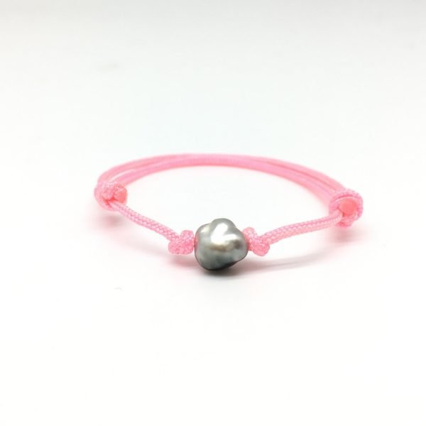 Bracelet BB keishi - Rose vif