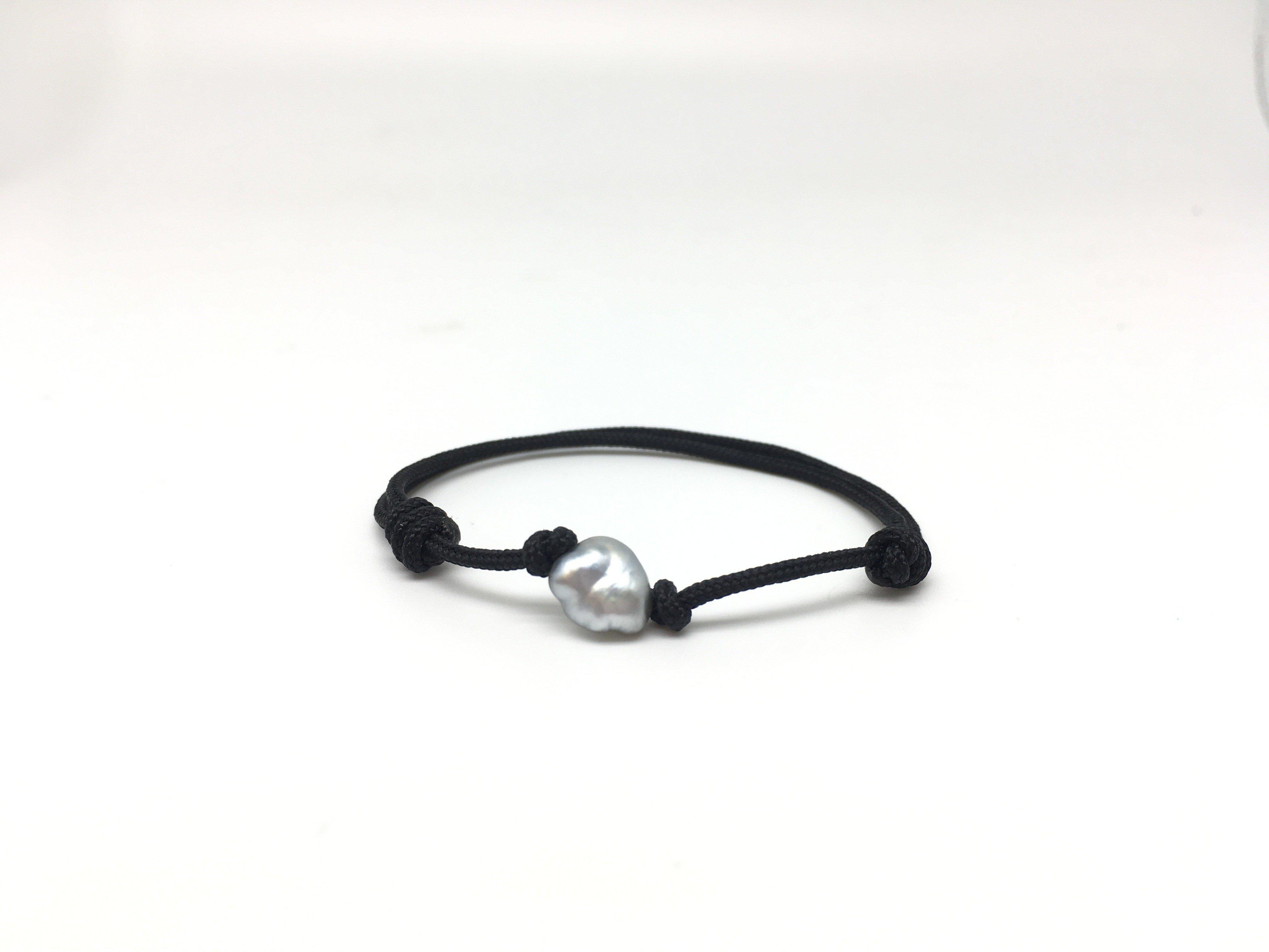 Bracelet BB keishi - Noir